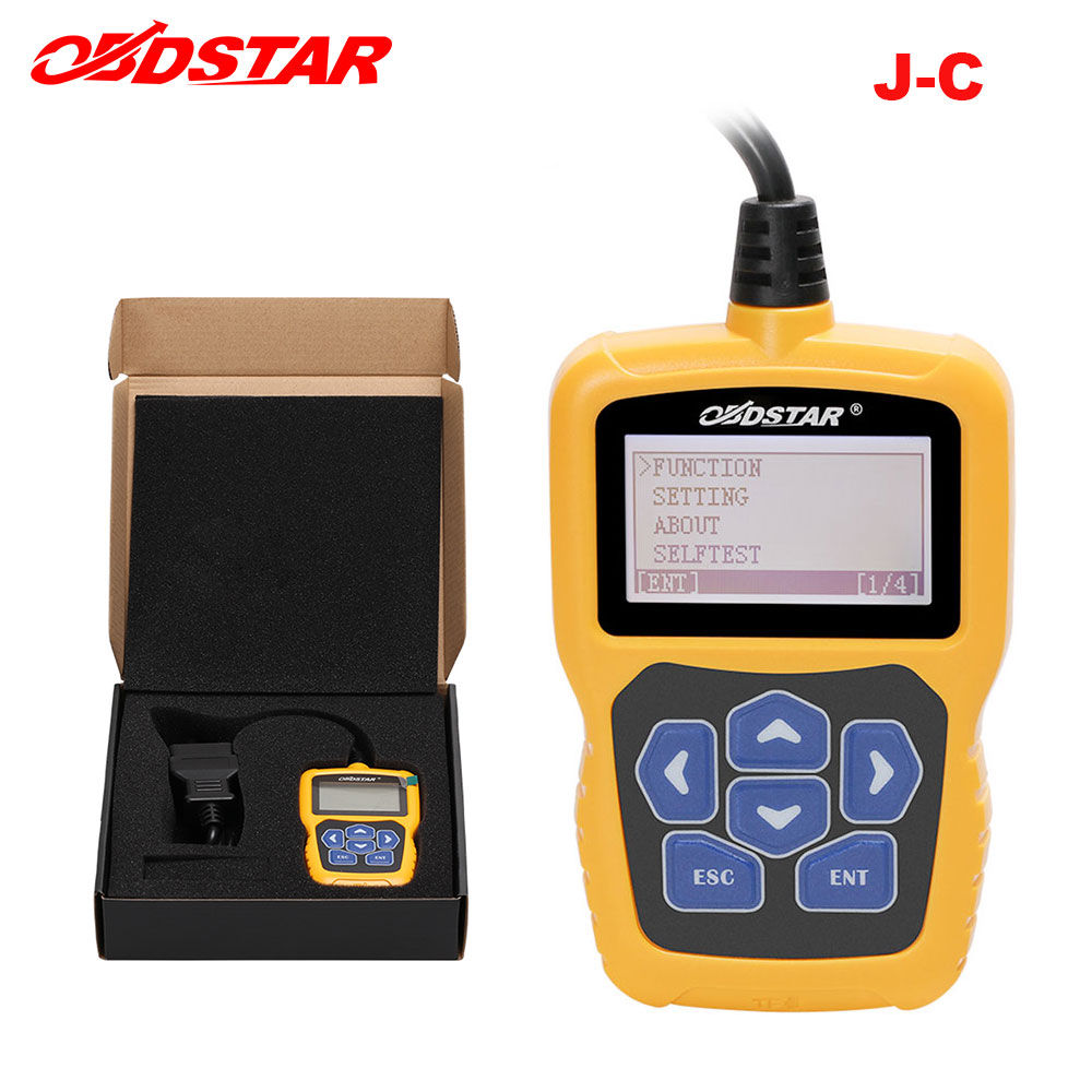 Original OBDSTAR J C calculating pin code Immobilizer tool One Key free Upgrade online No need to buy tokens diagnostic tool on