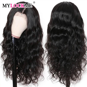 Body Wave Wig Human Hair Brazilian hair Wig 4x4/5x5/6x6 Remy Hair Wig Closure Natural Hair Soft Body Wave Closure Wig MYLOCKME