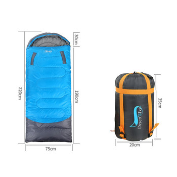 Camping Sleeping Bag Hands can reach out Lightweight Envelope Backpacking Sleeping Bag 4 Season for Outdoor Traveling Hiking 111 2