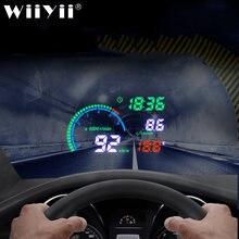 Автомобильный проектор скорости ветрового стекла wiiyii hud