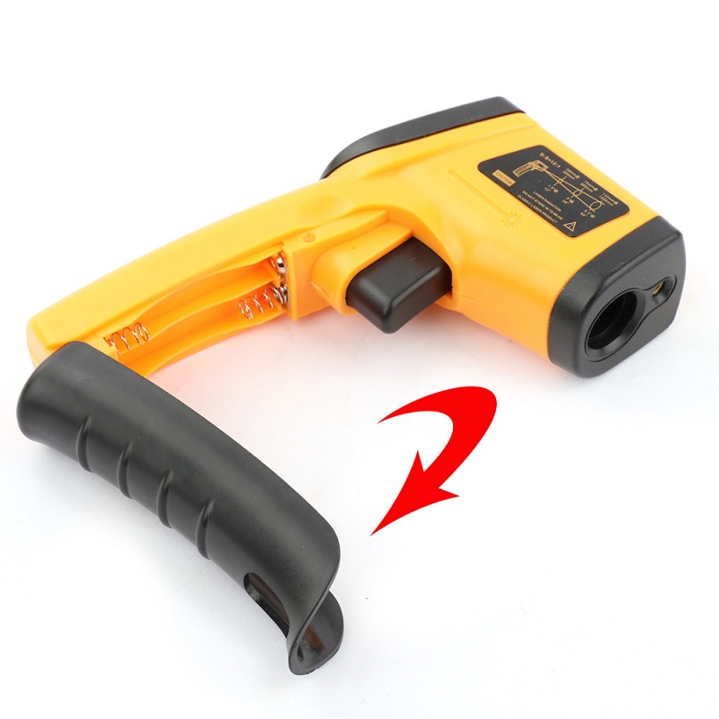 Image 5 - Infrared Thermometer 380 Degree Celsius LCD Display Temperature 