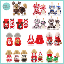Jumpsuit Hoodie Coat Sweater Puppy Christmas-Jacket Large Dogs Winter Cats Warm Small