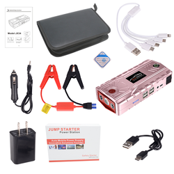 Ładowarka samochodowa do samochodu Booster 19000mAh 12V 4 USB do mocy banku
