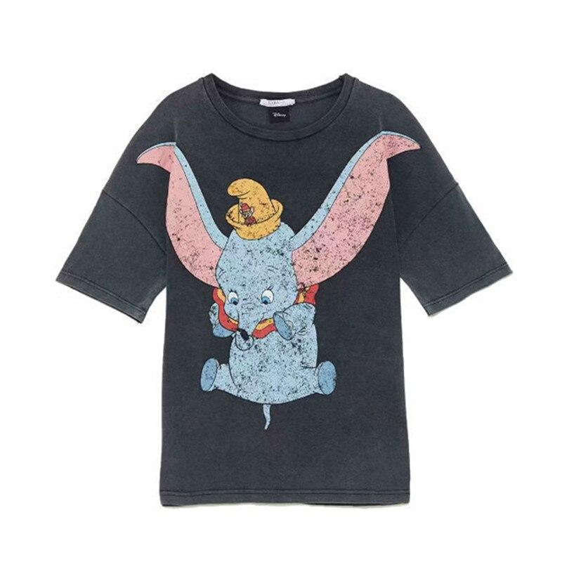 Dumbo-2019-cinzento-dos-desenhos-animados-do-ver-o-t-shirt-das-mulheres-o-pesco-o
