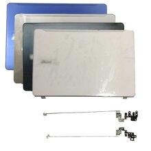 Novo caso escudo para acer aspire F5-573 F5-573G n16q2 portátil lcd capa traseira/tela traseira/dobradiças prata/preto/branco/azul metal