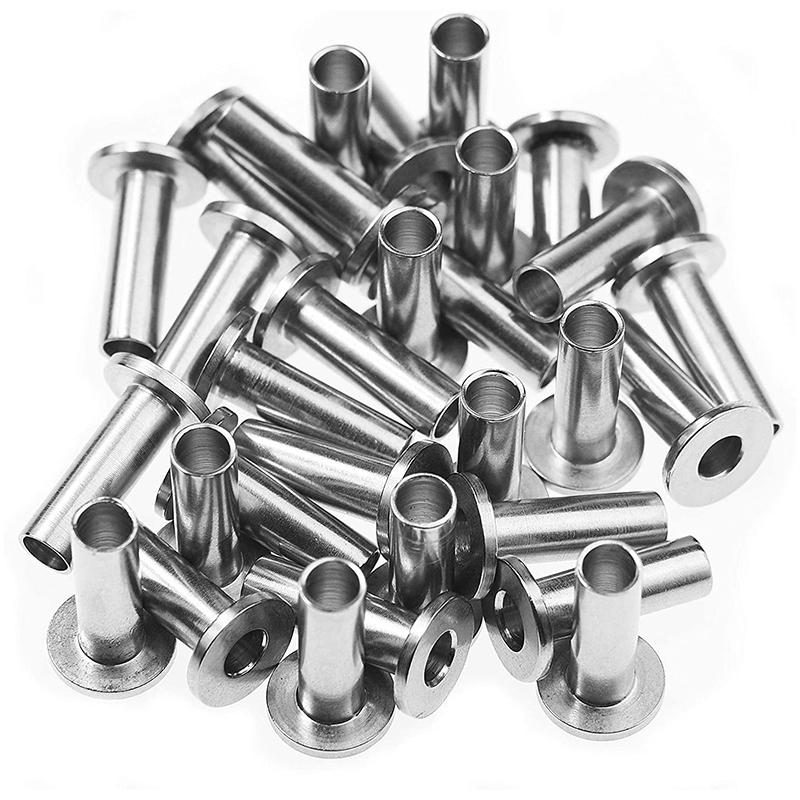 WSFS Hot 30Pcs Stainless Steel Protector Sleeves For 1/8 Inch 5/32 Inch Or 3/16 Inch Cable Railing T316 Marine Grade