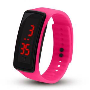 Watches Electronic-Watch Kitty Girls Sports Kids Children Montre LED Reloj Touch Horloges