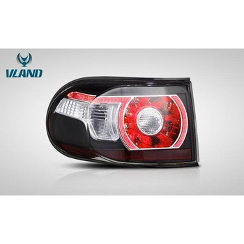 VLAND factory for car tail light For LAND CRUISER FJ 2007 2012 2019 LED taillight with turn signal+reverse light+DRL+brake light