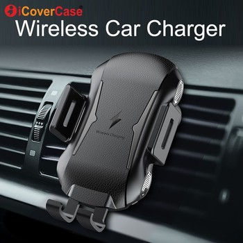 For Ulefone power 5 5s Armor X 6 Qi Wireless Charger for Doogee S60 S70 Lite BL9000 Fast Charging Pad Car Phone Holder Accessory