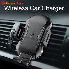 Pour Ulefone power 5 5s Armor X 6 Qi chargeur sans fil pour Doogee S60 S70 Lite BL9000 chargeur de charge rapide voiture support pour téléphone accessoire