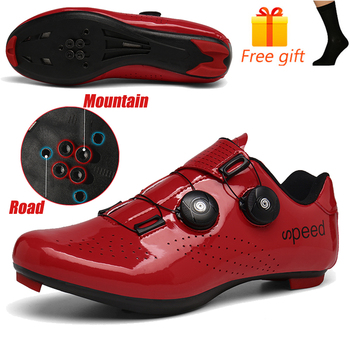 Discolor Cycling Shoes Man MTB Mountain Bike Shoes SPD Cleats Road Bicycle Shoes Sports Outdoor Training Cycle Sneakers 17