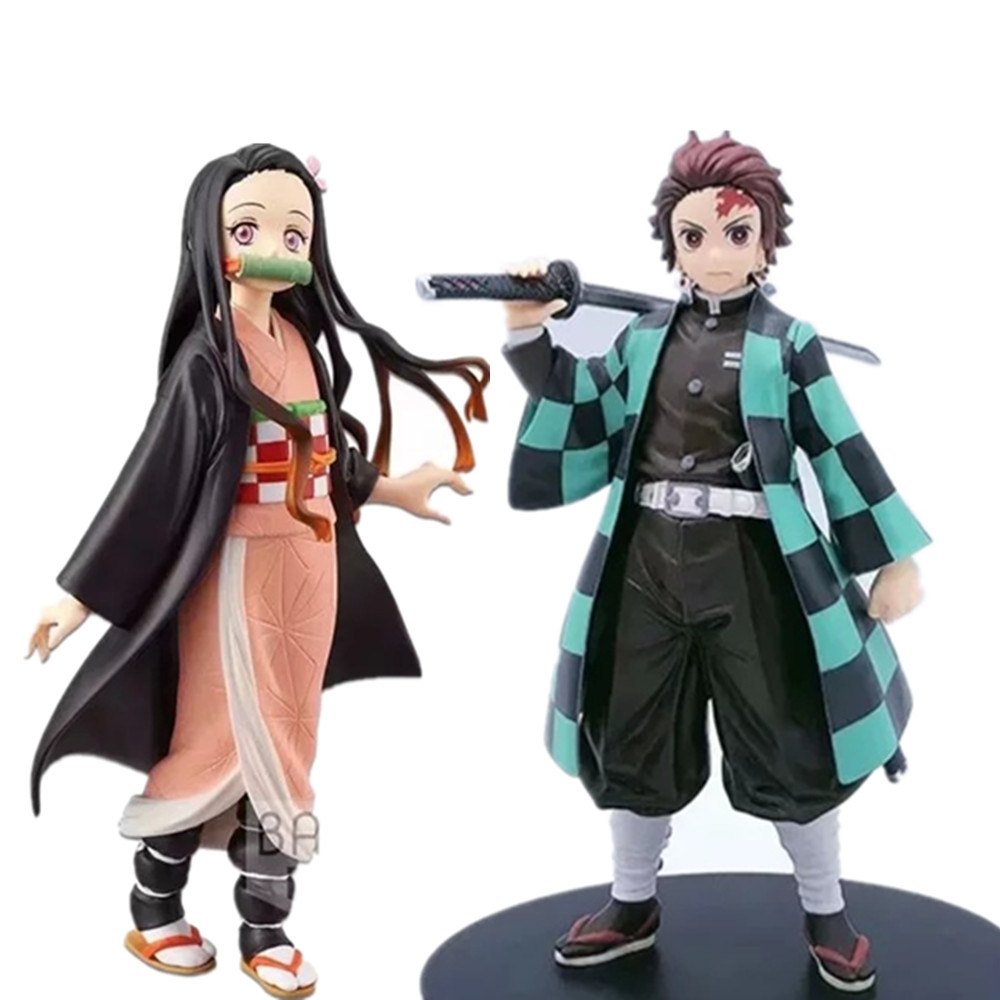 Kimetsu no Yaiba 20cm PVC Action Figure Modell Spielzeug Anime Demon Slayer