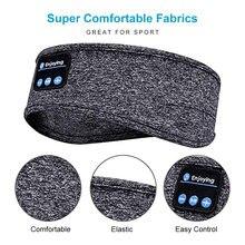 Diadema deportiva inalámbrica con Bluetooth, auriculares suaves y elásticos para Yoga y Fitness, para la ejecución de estéreo