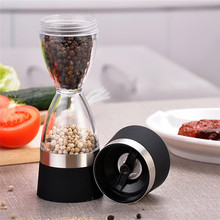 Pepper Shaker Grinder Spice Cooking-Tools Hourglass-Shape Manually Dual-Salt Kitchen