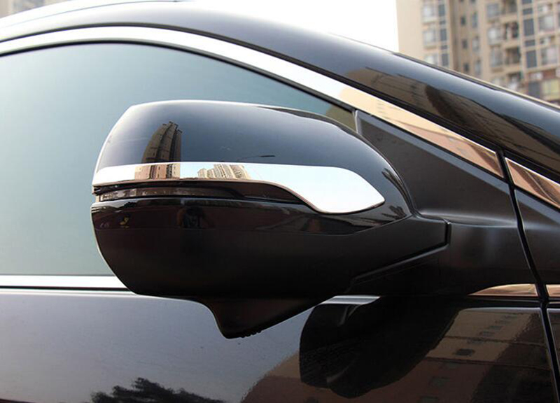 New Chrome Rearview Mirror Trim For Honda Accord MK9 2013 2014 2015 2016 2017