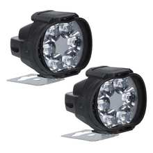 Headlight Scooters-Spotlight Motorcycles 1500LM LED White 1-Pair Fog-Lamp Working