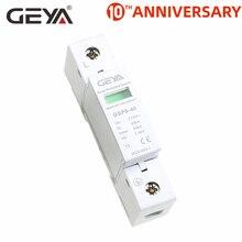 цена на Free Shipping GEYA GSP8 1P 40KA SPD Surge Protector 275V 385V 400V 440V Surge Protection Device Low-voltage Arrester Device