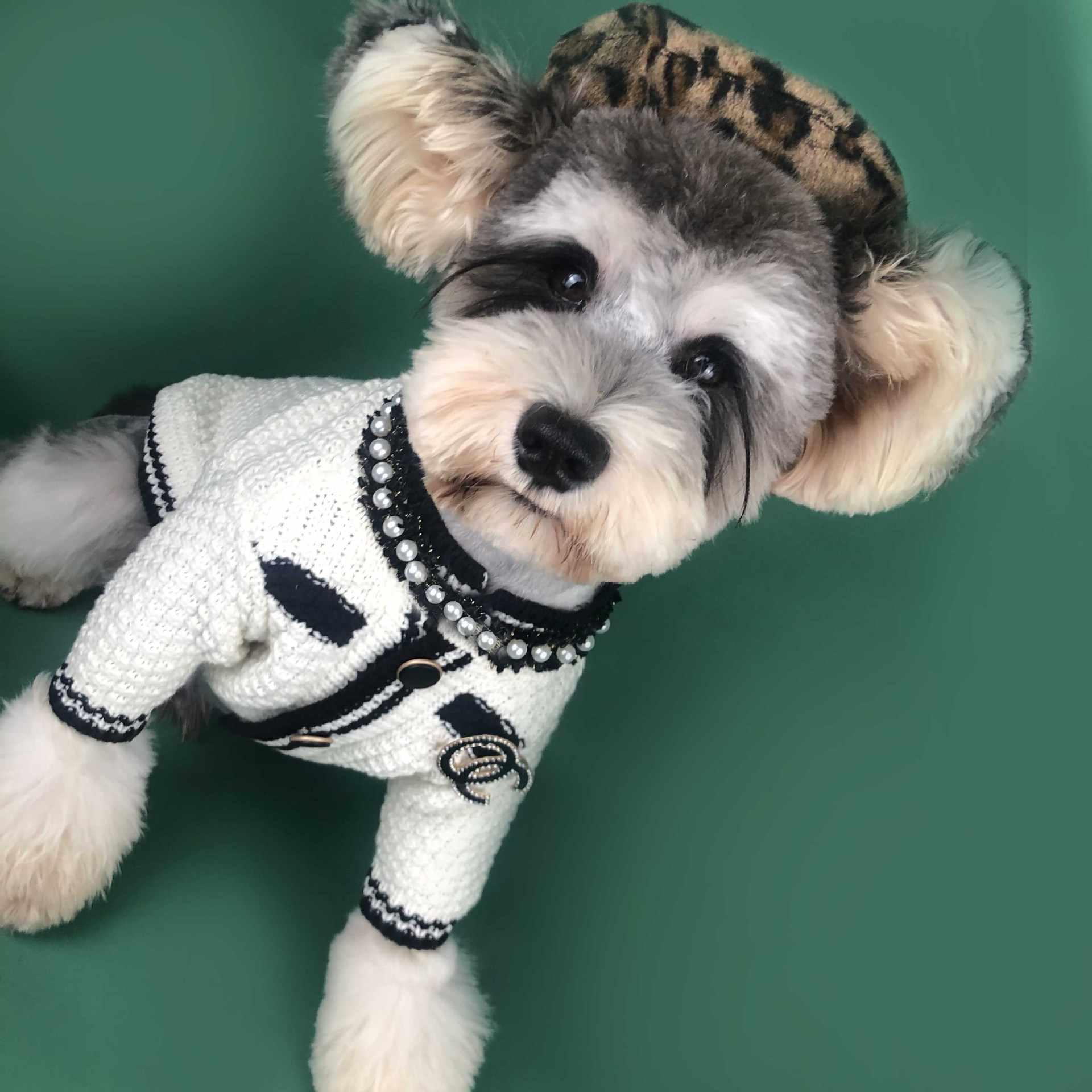 Hund Kleidung Neue Jahr Pullover für Teddy Bichon Hiromi Chihuahua Französisch Mops Bulldogge Welpen Winter Mode Luxus Niedlichen Hund Kleidung