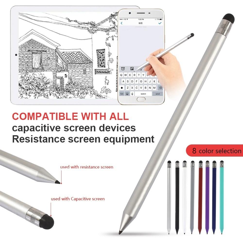 Plastic Stylus Pen High Sensitivity Capacitive Pencil Touch Screen Wear Resistance Tool 165X9mm #810