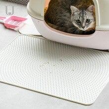 Youpin Jordan&Judy Cat Sand Mat Soft Silicone Falling Sand Pad Anti-splashing Cat Foot Pad Pet Mat Cat Toilet Control Sand Board силиконовый коврик для питомцев xiaomi jordan judy sanf control pad
