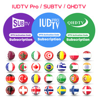 IPTV France Arabic Germany IPTV Subscription QHDTV/IUDTVPRO/SUBTV Code for m3u Android Smart tv IP TV Spain Portugal Italy IP TV