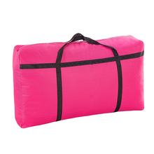Nylon Fabric Moving Travel Luggage Big Bag Thickened Waterproof Extra Large Duffel Bag Clothing Quilt Receiving Bags Cloth Bags
