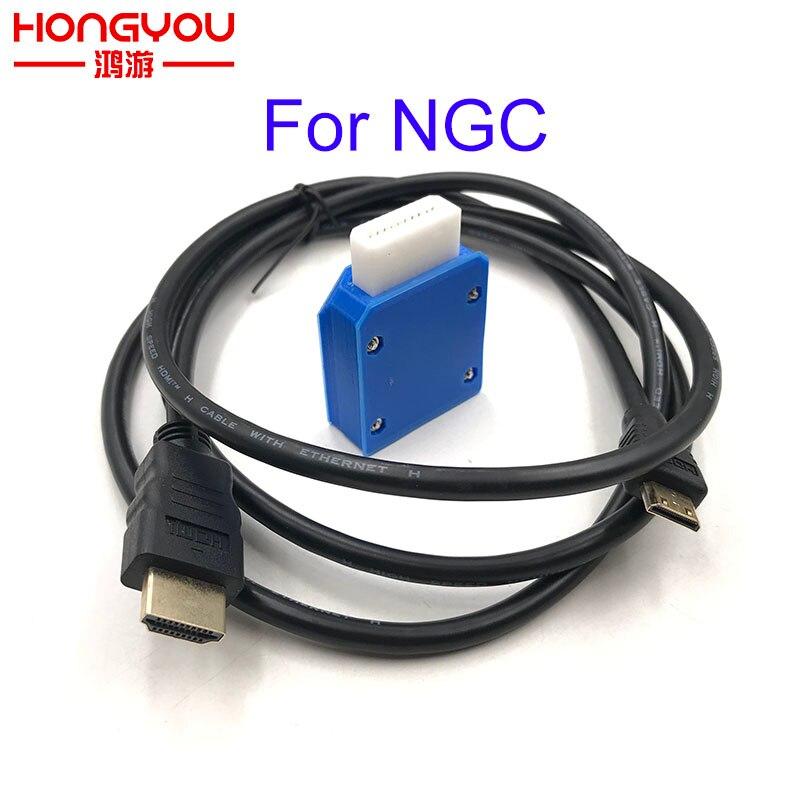 لنينتندو جيم كيوب محول HDMI صغير ث/5FT كابل HDMI ل NGC