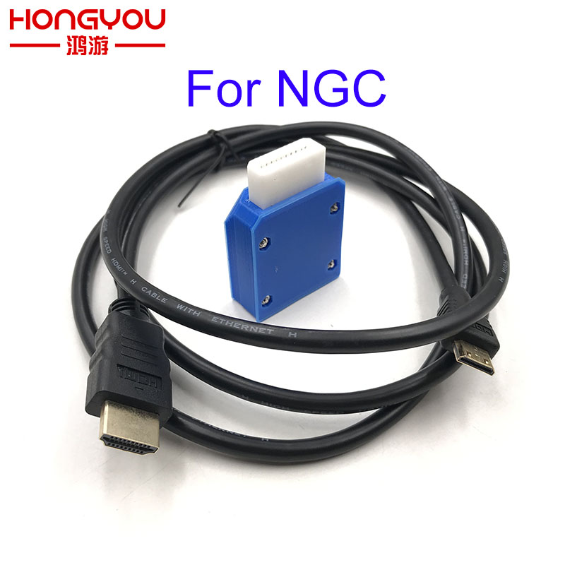 For Nintendo Gamecube Mini HDMI Adapter W/ 5FT HDMI Cable For NGC