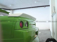 For Nissan Skyline R32 GTS GTR DM Style Carbon Fiber Glossy Finished Rear Wing Spoiler Car accessories Exterior Body kit