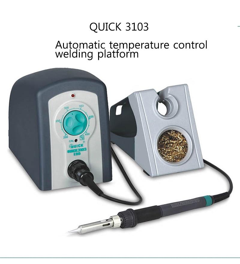 Plataforma de soldadura de control de temperatura automático QUICK 3103 Conector neumático Tipo UE conector de empuje rápido acoplador de alta presión funciona en compresor de aire de alta calidad estándares europeos
