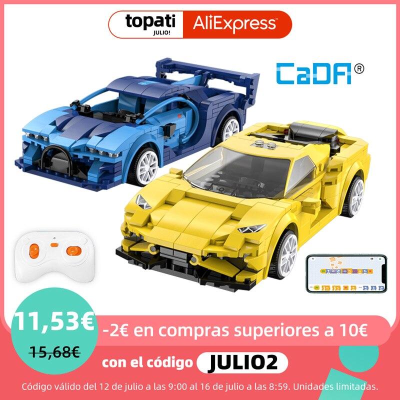 Cada C51073W C51074W APP Programming Remote Control Sports Car