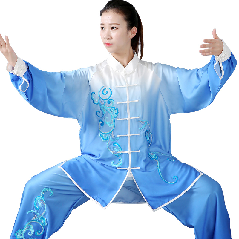 Chinese traditional Taoism Taichi costumes martial arts dress jacket 2 Pieces