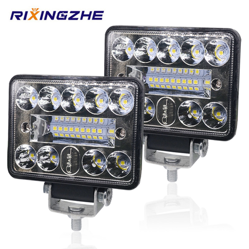 2PCS 12V 54W Wrok Licht led bar LED lichtbalken 3030 LED 18SMD für Lkw Traktor SUV 4x4 Auto Led Scheinwerfer Beleuchtung Spot arbeit bar
