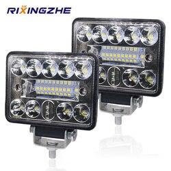 2PCS 12V 54W Wrok Light led bar LED lightbar 3030 LED 18SMD for Truck Tractor SUV 4x4 Car Led Headlights Lighting Spot work bar