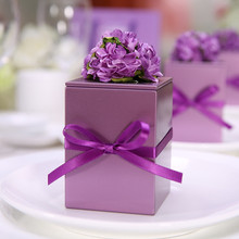 Creative Flower Candy Box Decoration 12pcs Tin Boxes For Cookies Sealed Jar Cand