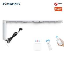 Zemismart cortinas eléctricas para el hogar con Control de Google Home, Smart Life, Zigbee, Alexa Echo