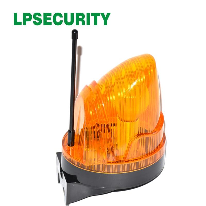 220VAC Bulb Flashing Alarm Lamp Light Blinker Strobe For Automatic Swing Sliding Garage Gate Opener(no Sound)