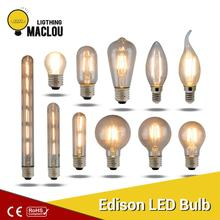 Retro LED Light Bulb 220V E14 E27 Vintage Edison Lamp Powerful Spotlight Warm White Ampoule Home Decor Lighting