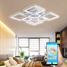 Новая светодиодная Люстра для гостиной спальни kitchern домашняя люстра современная светодиодная потолочная люстра лампа освещение люстра