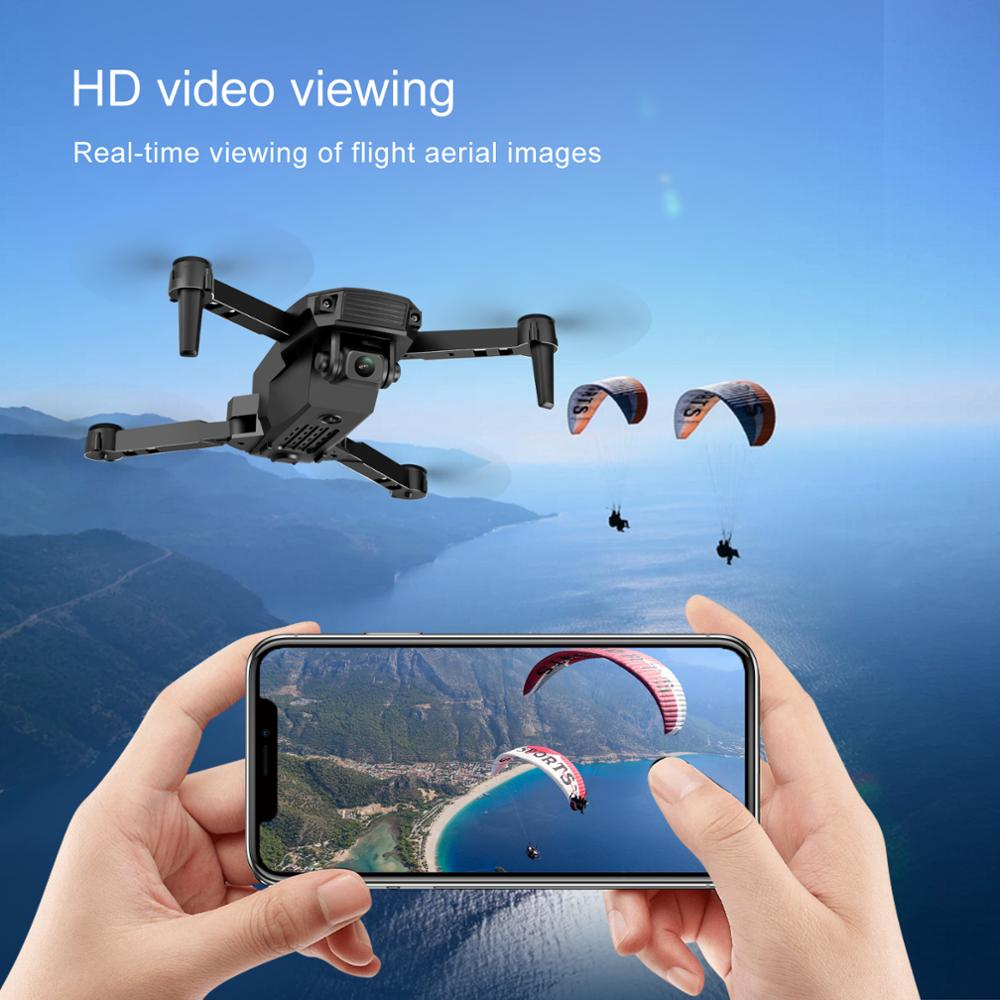 New 2021 S70 drone 4K HD dual camera foldable height keeping drone WiFi FPV 1080p real-time transmission RC Quadcopter toy 5