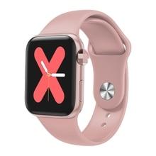 Bluetooth Smart Watch Full Touch Screen Heart Rate Blood Pressure Fitness Bracelet pk iwo