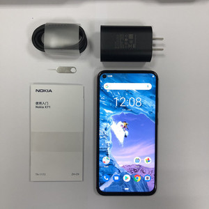 """Image 4 - Global Rom Nokia X71 Mobile Phone 6GB RAM 6.39"""" Snapdragon 660 Octa Core Android 9 48MP Camera Fingerprint 4G LTE Mobile Phone"""