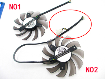 PLD08010S12H Fan For GeForce GTX 560 460 Ti R7 260x R270X MSI 560 Ti ASUS GTX 1050 TI Sapphire 6930 7850 GTX 550 750 Ti HD7870 image