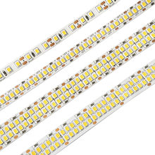 LED Strip Light 12V SMD2835 Flexible Tape 600/1200/2400 LED Chips Lights Non Waterproof