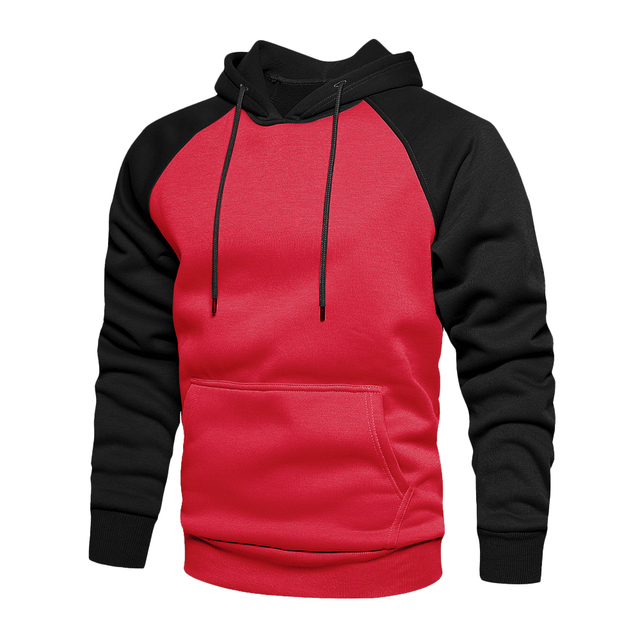 Winter Oversize Men Hoodies Long Sleeve Hooded Sweatshirt Pullover Men's Tops Blouse Pocket Pullover 4XL Thick Warm Coat Male|Hoodies & Sweatshirts|   -