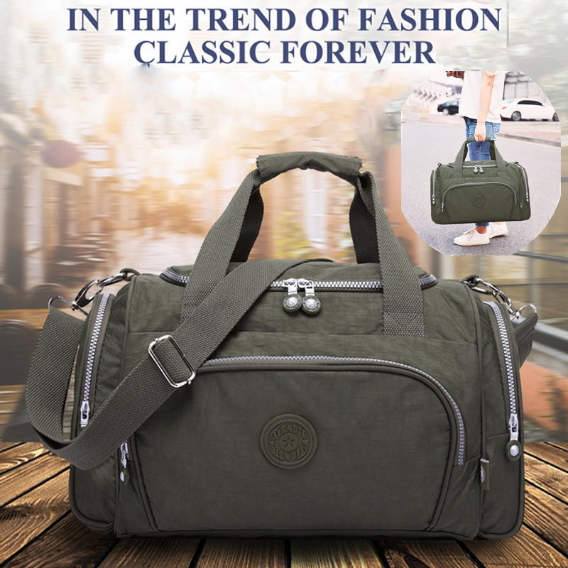 Kipled Original Outdoor Shoulder Bag Travel Duffel Handbag Unisex travel bags hand luggage duffel bag handbags image