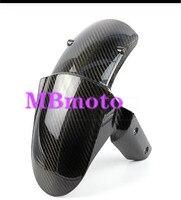 Motocicleta frente pneu de carbono fender carenagem parte apto para z800 z1000 z1000sx 2013-2017 14 15 16 motocicleta