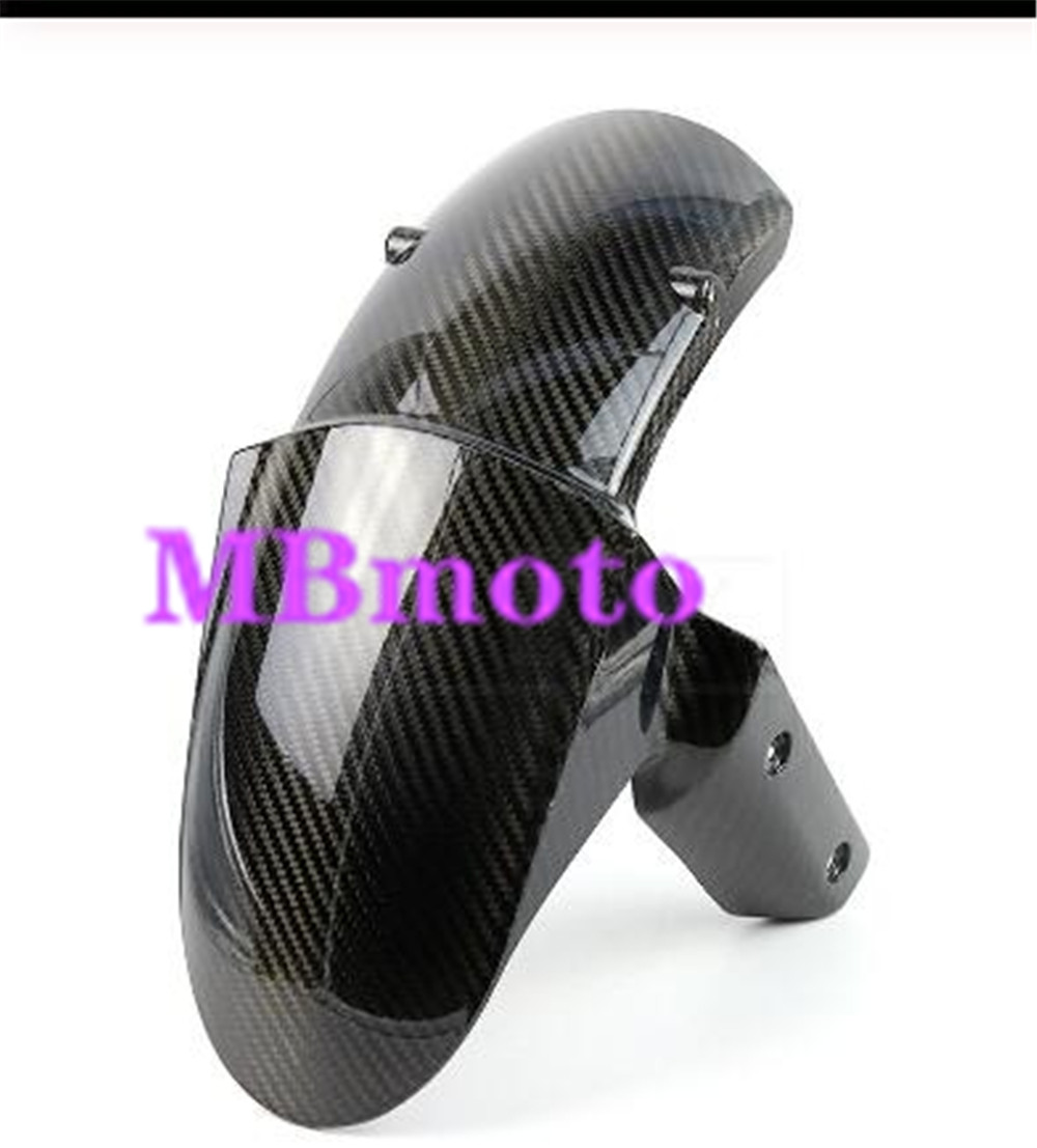 Motorcycle Front Tire Carbon Fender Fairing Part Fit For  Z800 Z1000 Z1000SX 2013-2017 14 15 16 Motorcycle