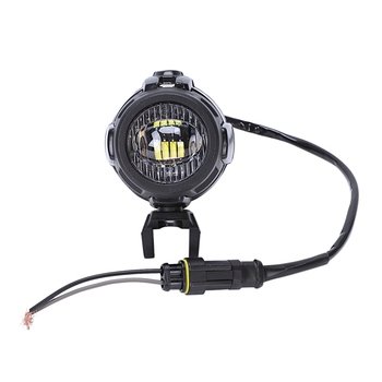 2Pcs Motorcycle Led Auxiliary Fog Light Assembly Driving Through The Lamp 40W For Bmw R1200Gs F800Gs