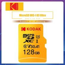Kodak – carte micro sd, 32 go/64 go/128 go/256 go, classe 10, U3, 4K, V30, mémoire Flash